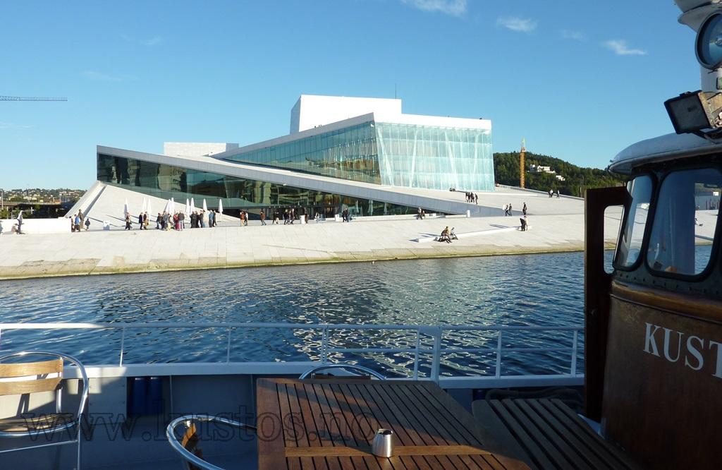 Båttur fra Oslo sentrum