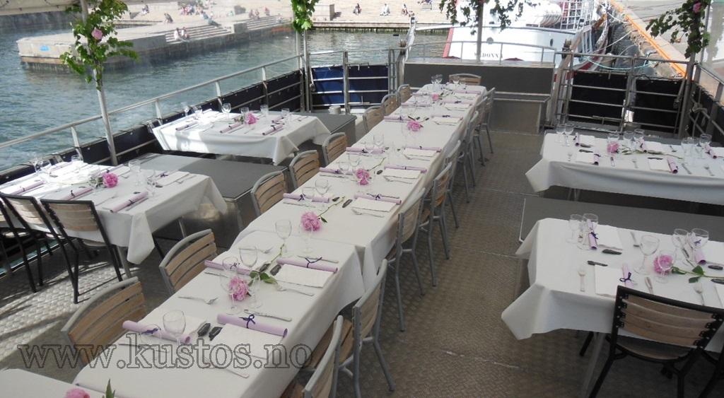 Bryllup på Fjordclipper i Oslofjorden