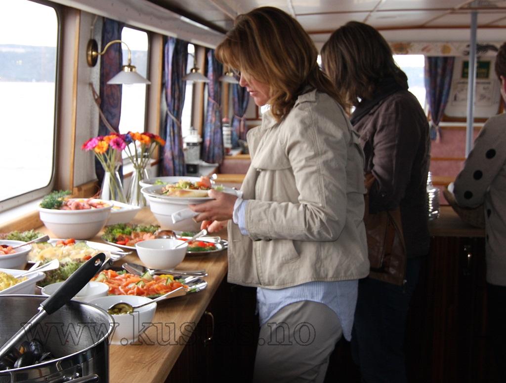Båttur Oslofjorden seafood skalldyr